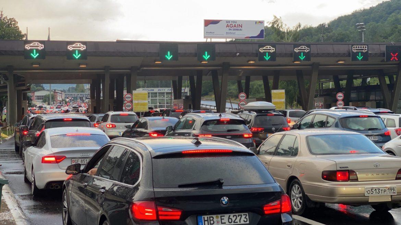 AMSS: I danas gužve na graničnim prelazima