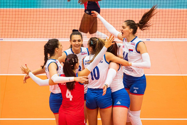 Srpske odbojkašice u četvrtfinalu