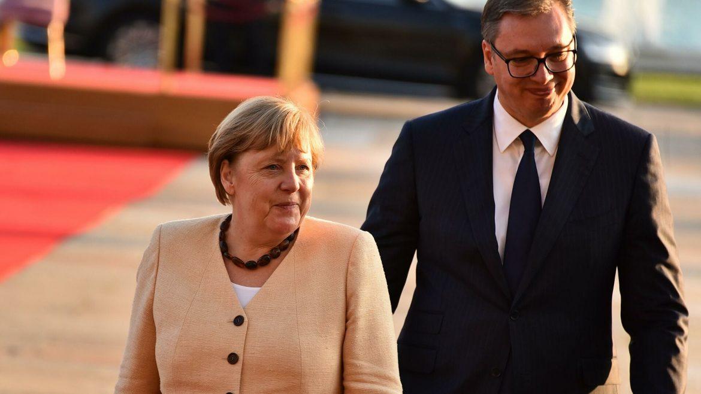 Merkel i Vučić: Jasno da je uslov za ulazak Srbije u EU rešenje kosovskog pitanja
