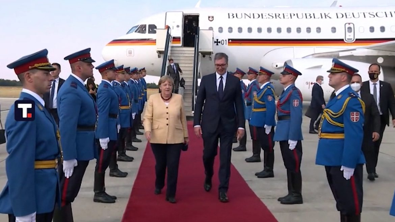 Angela Merkel doputovala u Beograd