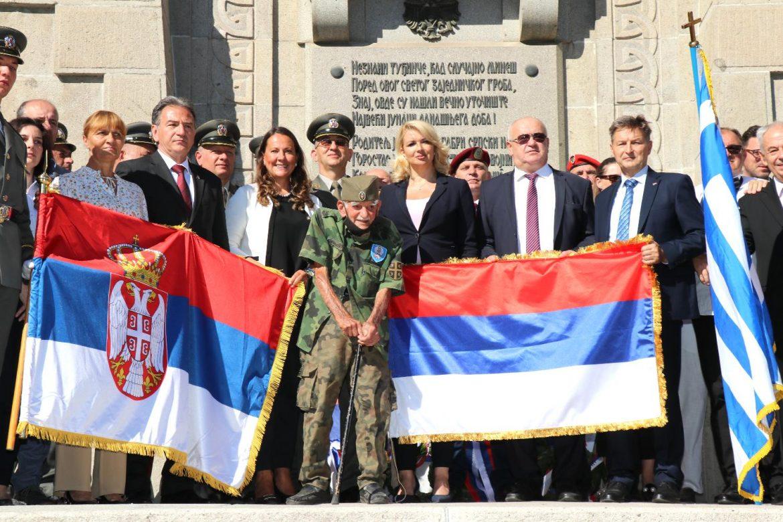 Na vojnom groblju Zejtinlik obeležene 103 godine od proboja Solunskog fronta