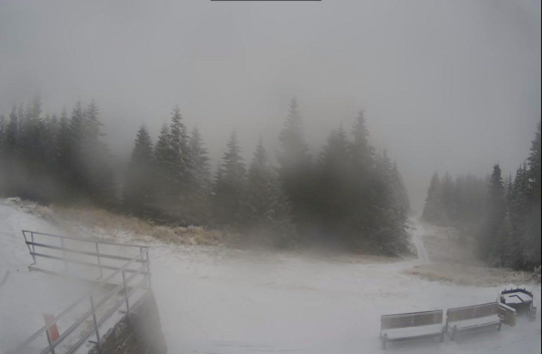 Pao prvi sneg na Staroj planini i Kopaoniku