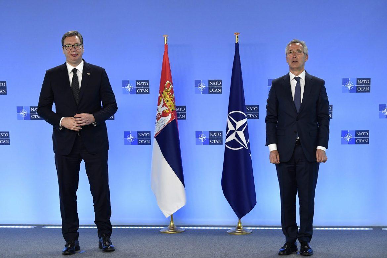 Vučić razgovarao s Stoltenbergom o situaciji na severu Kosova