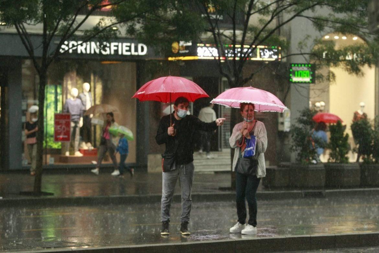 Danas pre podne suvo popodne kiša, temperatura do 33 stepena