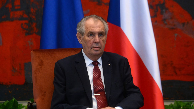 Češki predsednik Zeman ponovo u bolnici