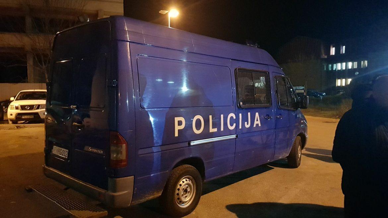 Crna Gora: Privedeno nekoliko službenika Uprave policije u Podgorici