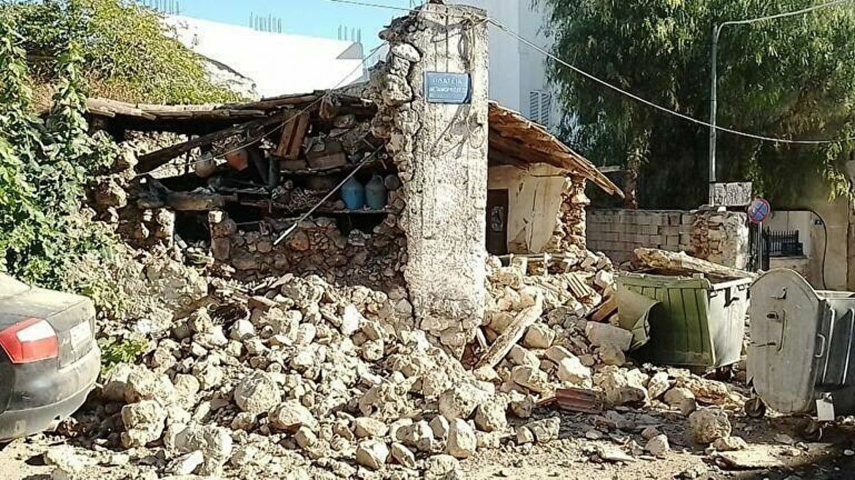 Jak zemljotres na Kritu