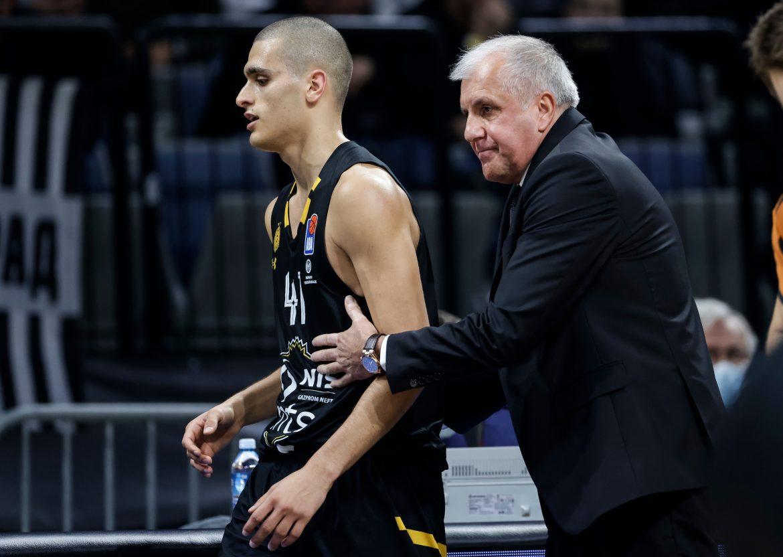Pobeda košarkaša Partizana