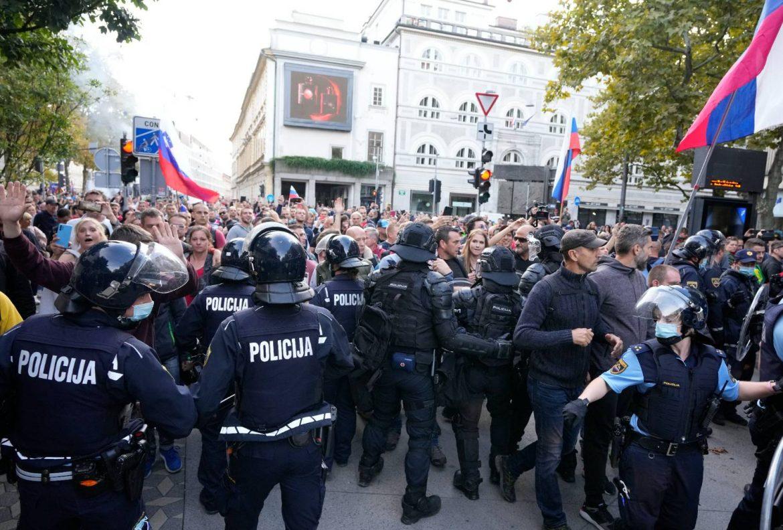 Ljubljana: Protesti uoči samita EU-zapadni Balkan