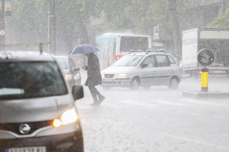 Danas kiša i pad temperature, maksimalna dnevna 12 stepeni
