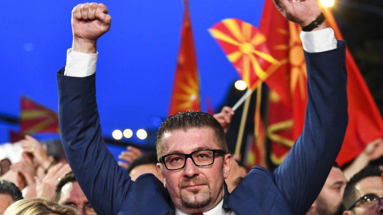 Opoziciona VMRO DPMNE proglasila pobedu u  više od 20 opština u Severnoj Makedoniji