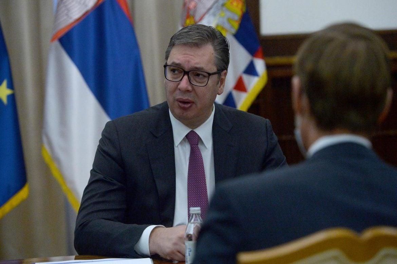 Vučić sa Misijom MMF: Rast BDP Srbije iznad očekivanja